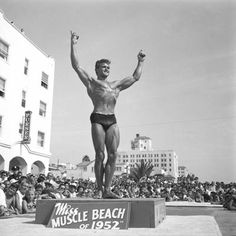 Muscle beach by Andre de Dienes #dental #poker Get your free trial here- click the picture.
