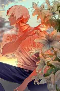 Boku no Hero Academia Shouto Todoroki My Hero Academia Shouto, Hero Academia Characters, Anime Characters, Manga Anime, Fanarts Anime, Manhwa, Ken Tokyo Ghoul, Handsome Anime, Boku No Hero Academy