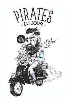 20 Best Illustration of 2014 - PIRATES 'DU JOUR'