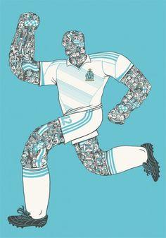 Olympique Marseille art