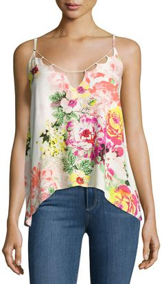 On the Road Lily Floral-Print Top Designer Dresses 03e2477c83