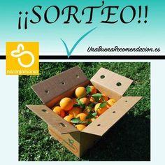 Sorteo Caja 10kg Naranjas Zumo Naranjamanía
