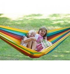 Kid's Cotton Rainbow Hammock - Nova Natural Toys + Crafts