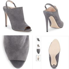 New MIU MIU, 100% Authentic New gray, suede Miu Mui open toe and heal sandals, 100% Authentic. Come with the the box and the dustbag. Super stylish. Miu Miu Shoes Ankle Boots & Booties