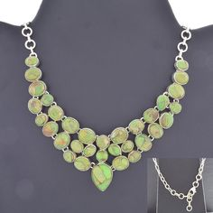 BEAUTIFUL 925 STERLING SILVER NECKLACE FOR WOMEN'S IN TURQUOISE STONES #SilvexImagesIndiaPvtLtd #Necklace