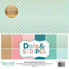 DS16007 Gold Foil Dots Cover