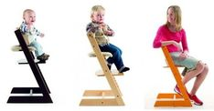 Stokke Tripp Trapp Baby to Adult High Chair with Tripp Trapp Baby Set