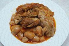Αρνί με γίγαντες Pot Roast, Beef, Ethnic Recipes, Food, Carne Asada, Meat, Essen, Ox, Ground Beef