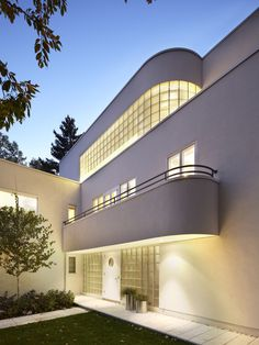Exterior Modern Art Deco Interior Design, Pictures, Remodel, Decor and Ideas