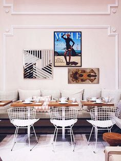 note: {travel | places : the vogue café at printemps haussman} by {this is glamorous}, via Flickr