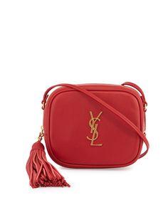 059307279 Saint Laurent Monogram Blogger Crossbody Bag, Red Ysl Crossbody Bag,