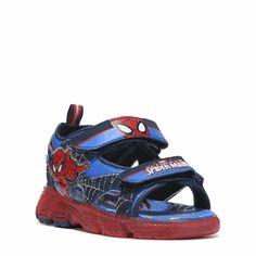 Spider-Man Kids' Spiderman Sandal Toddler/Preschool Shoes (Blue/Red)