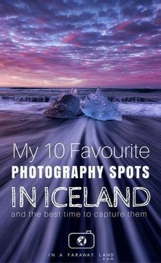 Ever wondering what the best photography spots in Iceland are? I've got an answer for you. During my 3 week road trip around Iceland I have photographed many locations around the island and came up with this list of my absolutely favorite spots. Guide To Iceland, Iceland Travel Tips, Europe Travel Tips, Travel Guide, Travel Destinations, Hiking Europe, Travel Goals, Amazing Photography, Travel Photography