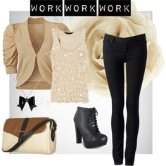 Work Style, created by gemalynn on Polyvore
