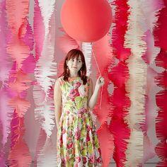 diy fringe backdrop | Wedding Reception Backdrops via http://emmalinebride.com/decor/wedding-reception-backdrops/