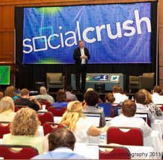 #GlenGilmore speaking at #SocialCrush