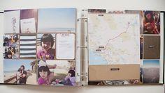 Including memorabilia Maps #projectlife by @Liz Tamanaha