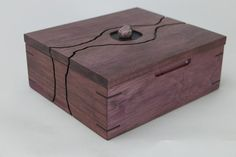 purpleheart , jewelry box