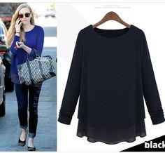 ZA  Fashion 2015 new autumn winter Long Sleeve star sweater ,black thick bottom long knitwear,chiffon stitching fake two sweater
