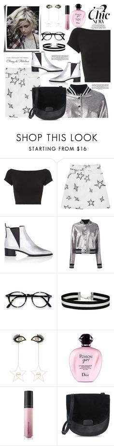 """""""Untitled #1163"""" by pesanjsp ❤ liked on Polyvore featuring Helmut Lang, Être Cécile, Acne Studios, R13, Miss Selfridge, Venna, Christian Dior and Bare Escentuals"""