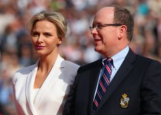 royalwatcher:  Princess Charlene and Prince Albert attended the ATP Monto Carlos Rolex Masters Tennis Final, Monte-Carlo Sporting Club, April 20, 2014