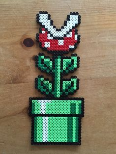 Etsy の Super Mario World Fridge Magnet Set by GamePixArt