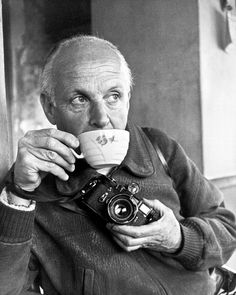 Henri Cartier-Bresson, self-portrait