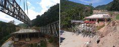 SH-Pista na Serra do Cafezal é duplicada com conjunto de formas e treliças da SH. ENGEFROM ENGENHARIA, informando sobre aplicações e inovações em obras.