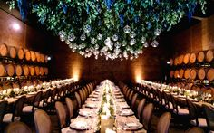 Whether you have an outdoor wedding or an indoor event, greenery can be used to infuse your décor with character. Leafy branches can lend a rustic touch, while manicured shrubs impart elegant sophistication. Even simple garlands of ivy can convey a romantic ambience. Greenery can also be used as camouflage, covering up wiring or blocking behind-the-scenes equipment from sight. Whether you're looking for dramatic impact or simply something to suspend decorative elements from, get i...