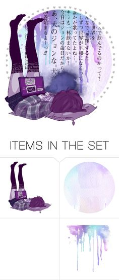 """""""open icon + question in description"""" by xx-prince-gumball-xx ❤ liked on Polyvore featuring art and gumballsicons"""