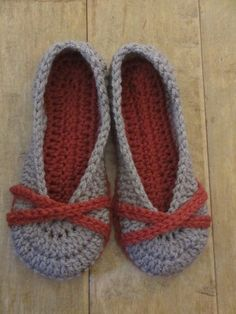 Ravelry: X Marks the Spot Flats slippers pattern by Jay's Boutique