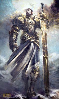 Fectos, após Abismo Fantasy Male, Fantasy Armor, High Fantasy, Medieval Fantasy, Dnd Characters, Fantasy Characters, Fantasy Character Design, Character Art, Armadura Medieval