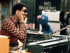 Stevie Wonder + Grover.