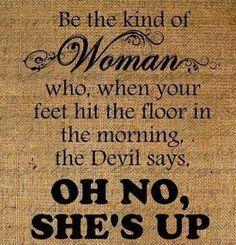 Woman . .