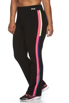 Plus Size FILA SPORT® Reflective Dot Leggings *** Want additional info? Click on the image.