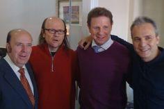 @DavidSummersHG: Con mis amigos Chiquito, Cesar y Santiago grandes entre los grandes
