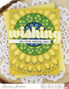 A Kept Life: Birch Press Design Peacock Inspired Grace Panels #card #cardmaking #papercrafting #stamp #stamping #diycard #wishing #sugarscript #specialday #birthday #word #die #grace #layereddies