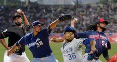 Cuatro pitchers Quisqueyanos abrirán en el juego inaugural
