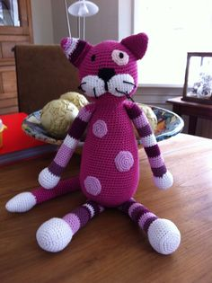 cat #crochet #toy                                                                                                                                                     More