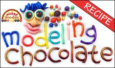 Cake decorating tutorial with instructions on how to form edible flowers with modeling chocolate or fondant by Wicked Goodies Modeling Chocolate Recipes, Chocolate Glaze Recipes, Chocolate Videos, Types Of Chocolate, Chocolate Fondant, Chocolate Making, Chocolate Chocolate, Modeling Chocolate Figures, Molding Chocolate