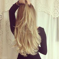 cabelo lindo loiro claro