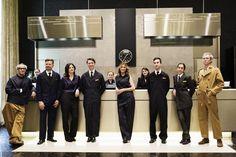 hotel uniforms design