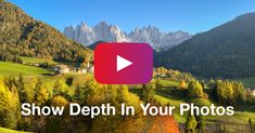 How To Show Depth In Your Landscape Photos Using Layers [Video Tutorial] Landscape Photos, Landscape Photography, Best Iphone, Iphone Photography, Cool Photos, Good Things, Layers, Travel, Watch