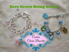 DIY Custom Charm Bracelets #tutorial