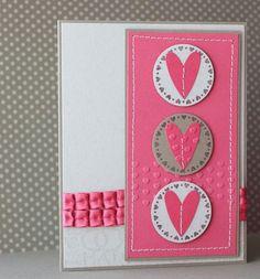 Cute valentine card or I love you card layout