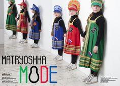 Baseball caps: Team Southwest.Traditional Russian headdresses and dresses: Rusclothing.com.Viscose roll necks: DKNY. Cotton tights: La Perla. Silver footwear: Kickers