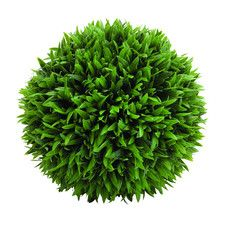 Amazingly Styled Plastic Grass Ball Sculpture