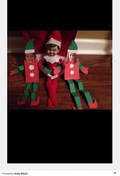 Elf crafts paper elves with kids photo for face. Noel Christmas, Christmas Elf, Christmas Crafts, Magical Christmas, To Do App, Der Elf, Elf Auf Dem Regal, Awesome Elf On The Shelf Ideas, Elf Magic