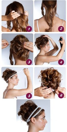How To Do A Grecian Hairstyle Not Sure How Much I Like The Finished - hairstyles festa diy hairstyles festa rabo de cavalo Greek Goddess Hairstyles, Grecian Hairstyles, Messy Hairstyles, Party Hairstyles, Hairdos, Hairstyle Ideas, Medium Hair Styles, Curly Hair Styles, Greek Hair