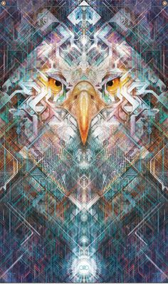 Far Seer Eagle Tapestry by SolsticeSonDesign